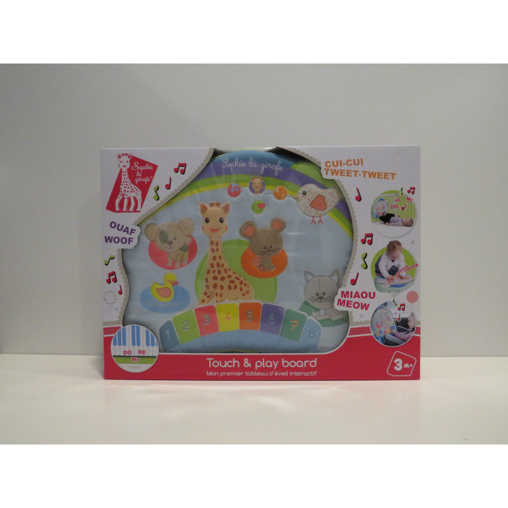 Touch and Play Board Sophie La Girafe